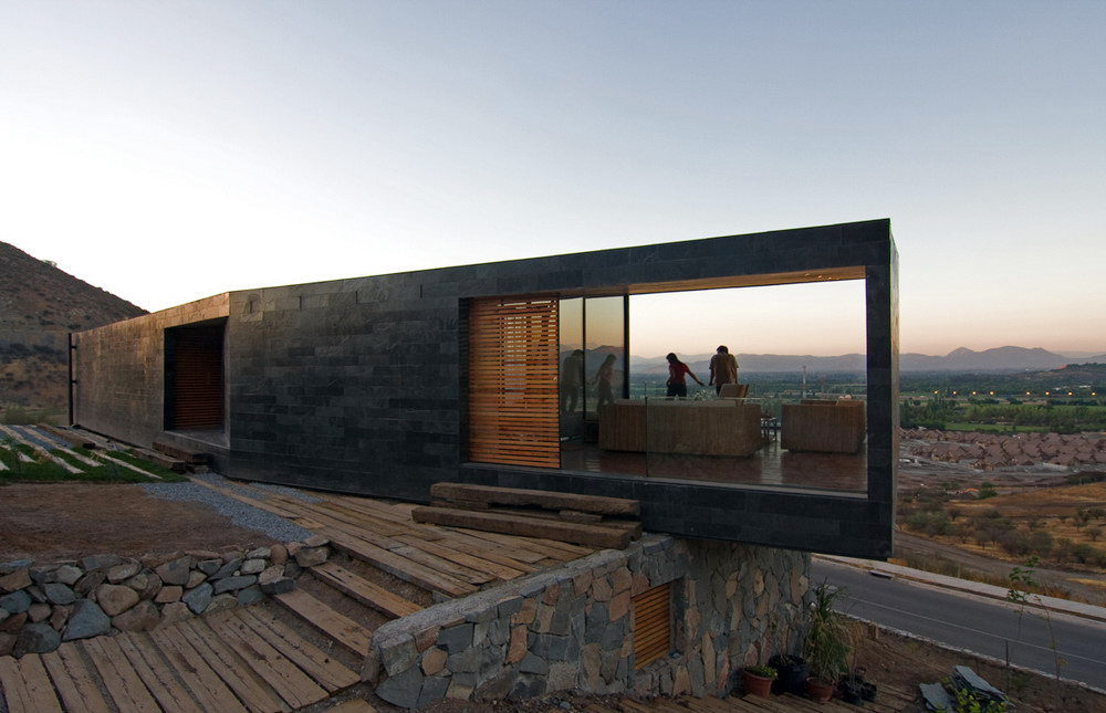 Fachadas de piedra natural rustica esta hermosa vivienda - Fachadas de piedra rustica ...